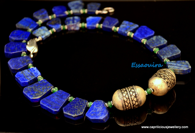 Lapis lazuli necklace from Caprilicious Jewellery