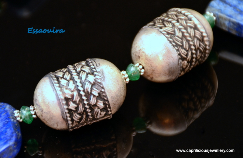 Moroccan beads from Caprilicious Jewellery