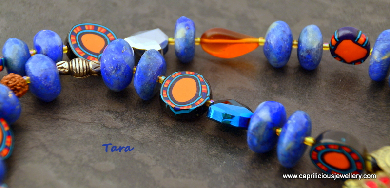 Tribal necklace by Caprilicious Jewellery