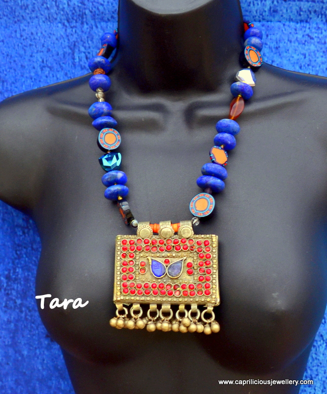 Tribal necklace from Caprilicious Jewellery