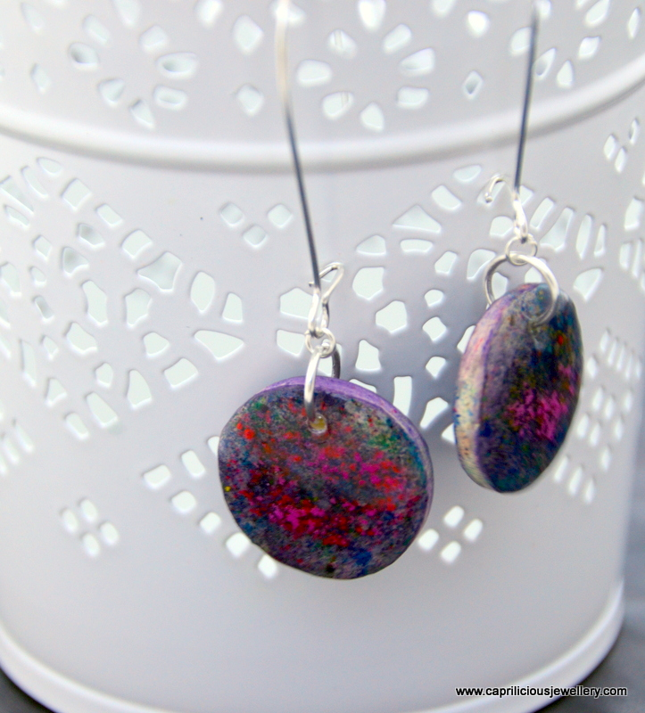 Constellation - earrings by Caprilicious jewellery