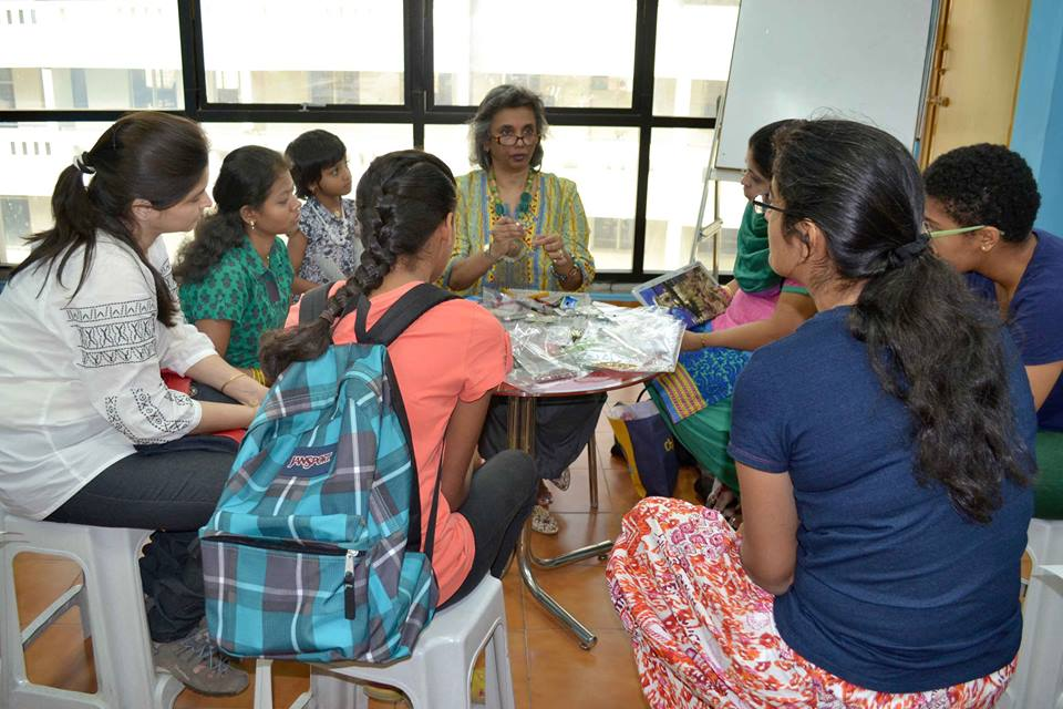 Jewellery making workshop at Itsy Bitsy, Bangalore by Caprilicious Jewellery