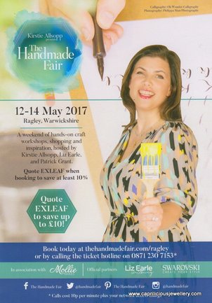The Handmade Fair, Ragley Hall, May 2017