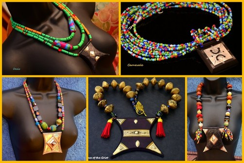 Tribal Tuareg Tcherot Necklaces by Caprilicious Jewellery