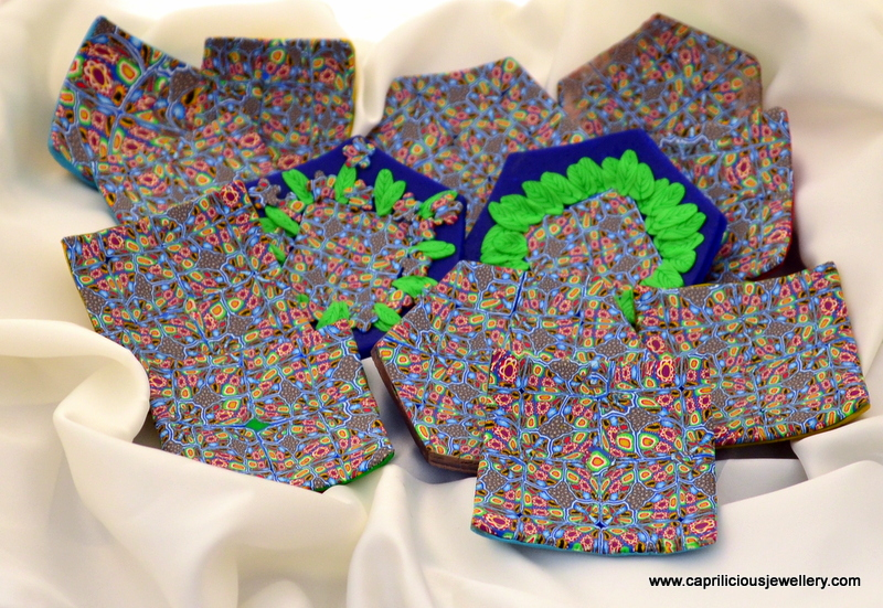 Polymer clay ring trays by Caprilicious Jewellery