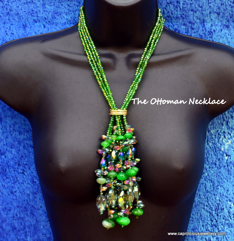 The Ottoman Necklace by Caprilicious Jewellery