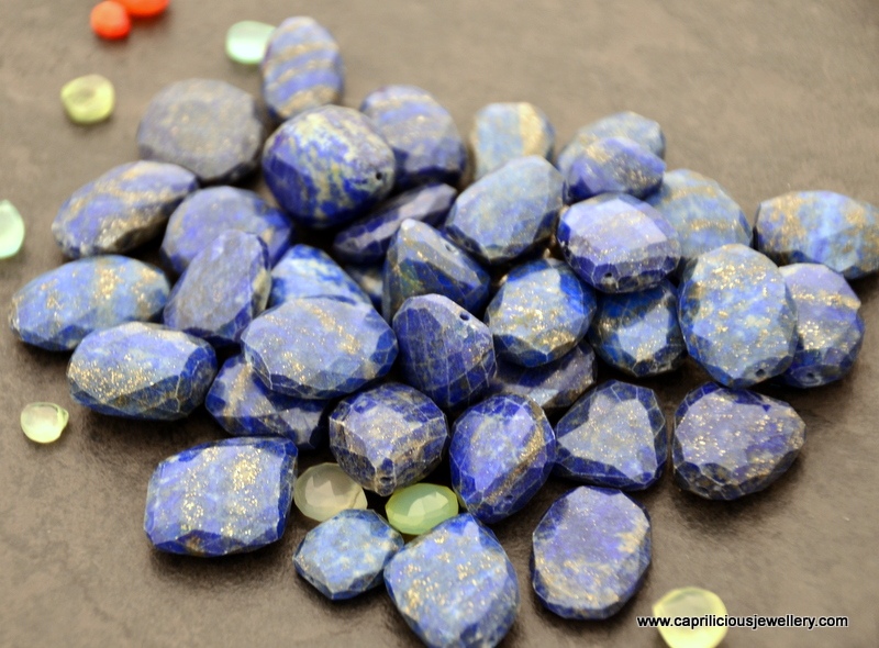 Faceted lapis Lazuli from Jaipur