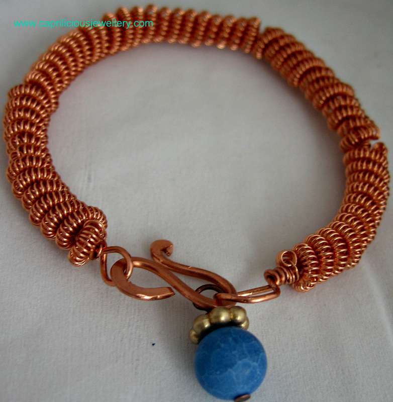 Copper Bracelets for rheumatism by Caprilicious Jewellery