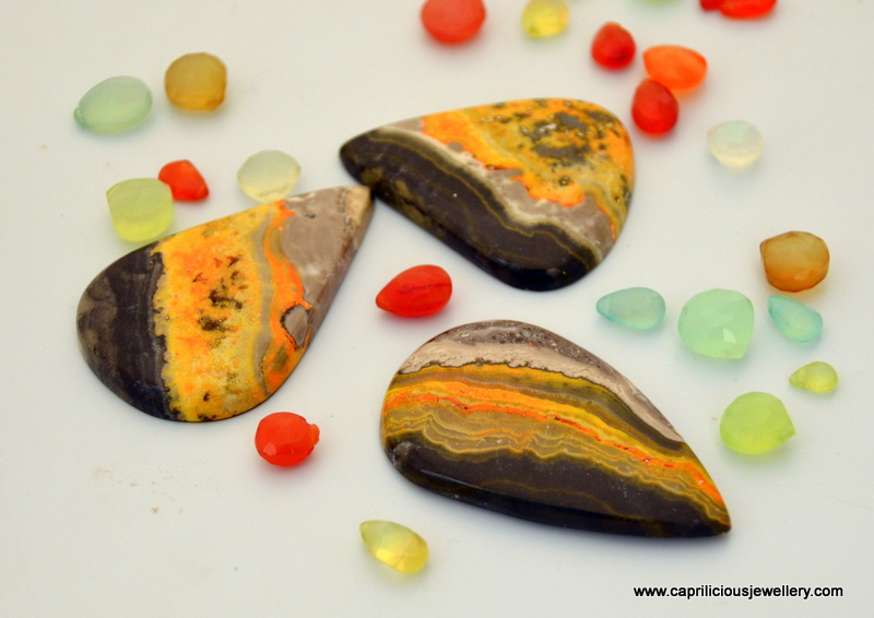 Bumble Bee jasper from Jaipur