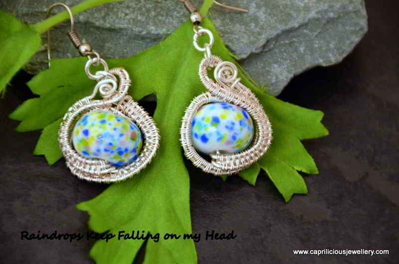 Raindrops - earrings by Caprilicious Jewellery
