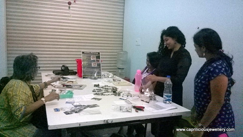 Jewellery Making Workshop at Itsy Bitsy by Caprilicious Jewellery