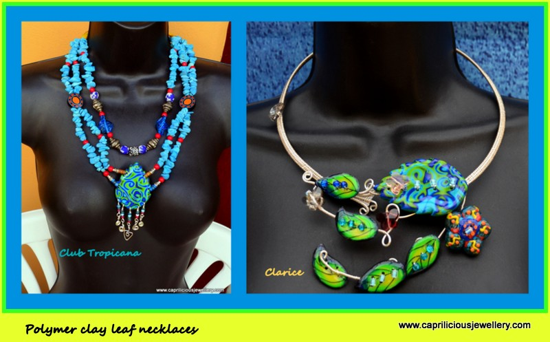 Mixed Media Necklaces by Caprilicious Jewellery