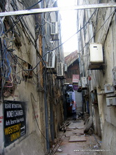 Side streets in the Chameliwala Market, Jaipur