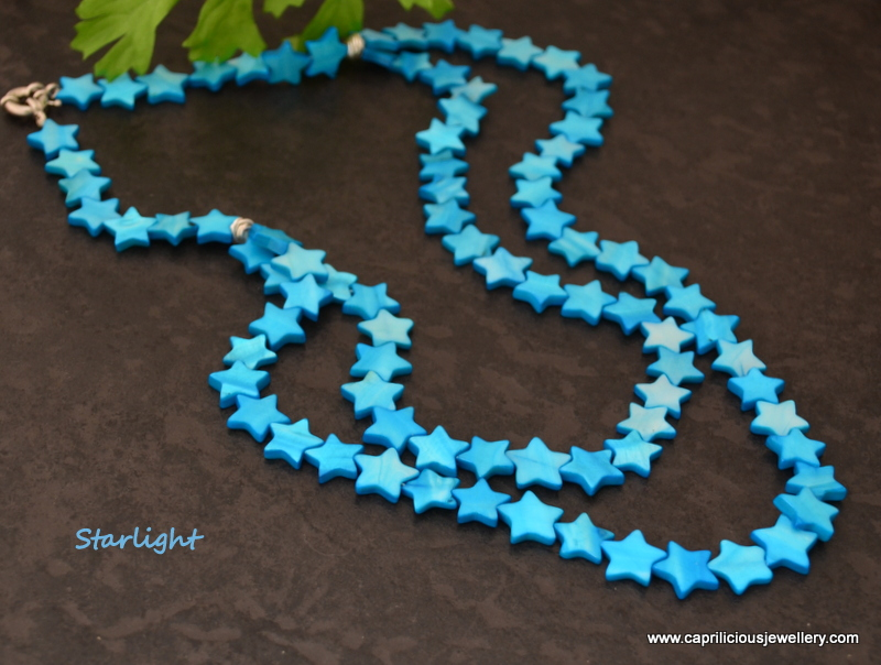 Starlight - shell stars by Caprilicious Jewellery